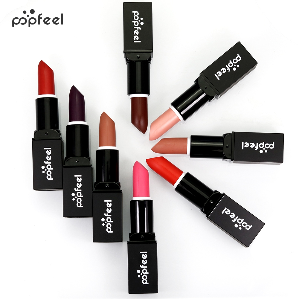 Aliexpress.com : Buy 6 Colors Lip Gloss matte Lipstick