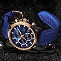 Часы Relojes Hombre LIGE мужские  роскошный бренд  кварцевые часы  модные часы с секундомером  спортивные часы  мужские часы