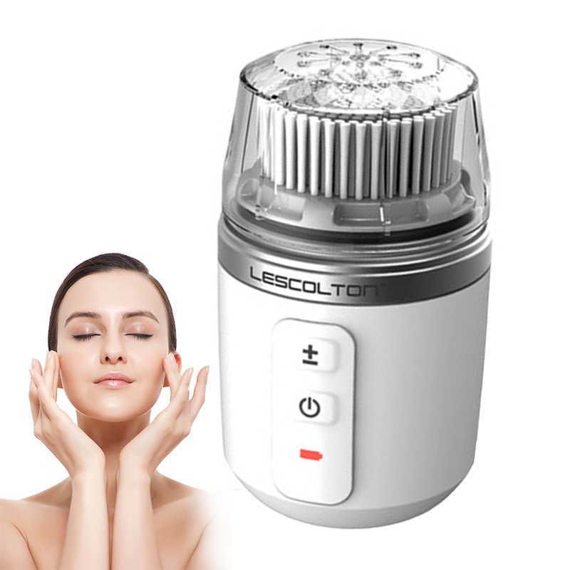 Electric Facial Brush Cleaner  Waterproof Ultrasonic Remove Blackhead Pore Cleanser Instrument Facial Skin Care Spa Massager Electric Facial Brush Cleaner  Waterproof Ultrasonic Remove Blackhead Pore Cleanser Instrument Facial Skin Care Spa Massager