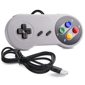 Image 3 - Controle usb para jogos snes, joystick clássico usb para raspberry pi, 2 peças