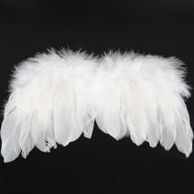 Naturalwell Newborn Angel Wings And Headband Photoshoot Newborns First Photos Feathers Rhinestones Announcement  Shower HB634