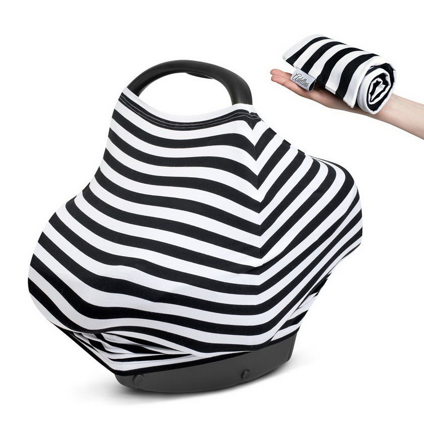 Amazon More Function Baby 4 Syncretic Chair Pad Lactation A Piece Of Cloth Pure Cotton Garden Cart Covering Cloth Car Cover