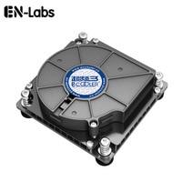 En Labs 4 pin PWM Turbo CPU Fan Cooler for 1U Server,Computer PC 12 Volt Cooling Radiator Socket LGA1151 1150 1155 1156