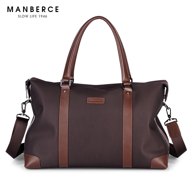 MANBERCE Brand Handbag Men Shoulder Bags Oxford Briefcases Tote Bag Business Men's Messenger Bag Casual Travel Bag Free Shipping free shipping dbaihuk golf clothing bags shoes bag double shoulder men s golf apparel bag