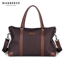 MANBERCE Brand Handbag Men Shoulder Bags Oxford Briefcases Tote Bag Business Men's Messenger Bag Casual Travel Bag Free Shipping
