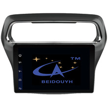 BEIDOUYH 10.2 inch Car Navigators for Ford Escort 2012-2015 with bluetooth/GPS Navigation/rearview Play Stereo Music RDS Radio