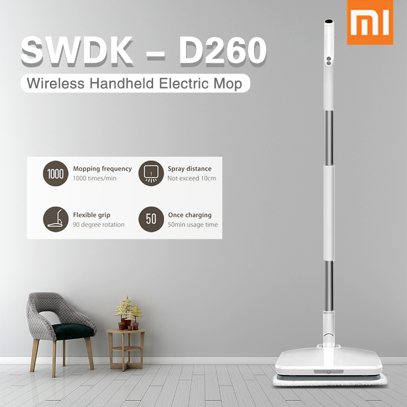 buy xiaomi swdk d260 handheld vacuum cleaner wireless cleaning brush floor. Black Bedroom Furniture Sets. Home Design Ideas