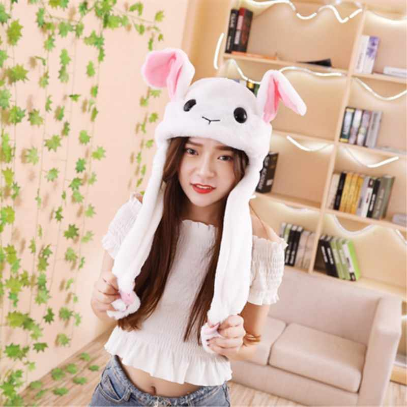 5346dad5d Detail Feedback Questions about Animals Moving Ears Cap Hat Rabbit ...