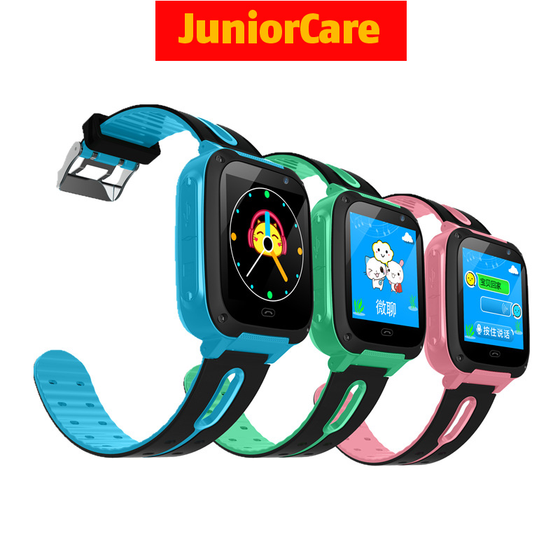 Smart-Watch Camera Lbs-Monitor Sos-Locator Waterproof Children Baby Kids for Safe Positioning-Dial