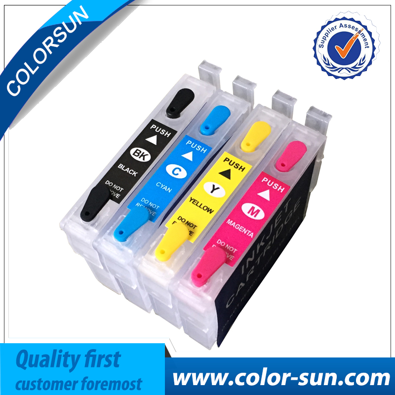New T2201 T2204 Empty Refill Ink cartridge for Epson WF