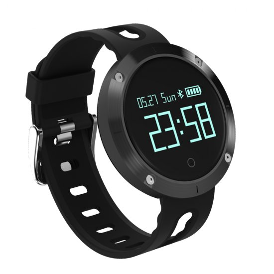 Black Smart Band Blood Pressure Heart Rate Monitor Waterproof Smart Wristband Call SMS SNS Remind Activity Tracker