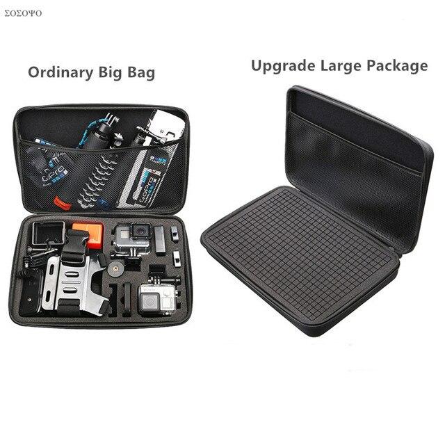 Bolsa de almacenamiento impermeable para Gopro Hero 7, 6, 5, 4, 3, 2, Xiaomi Yi, 4K, SJCAM, accesorios para cámara