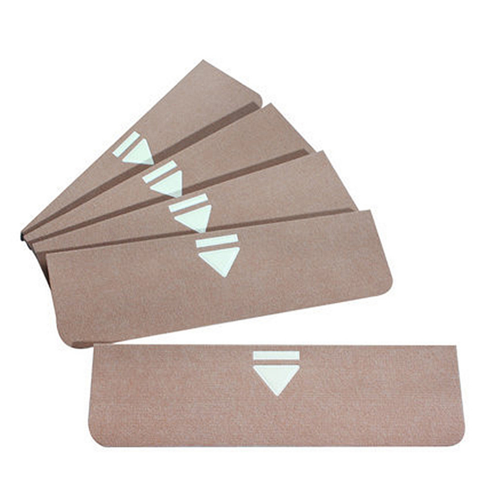 5pcs/lot Quality Glowing Self-adhesive Stair Pad Non-slip Floor Staircase Carpets Luminous Stair Stepping Treads Protector Mats