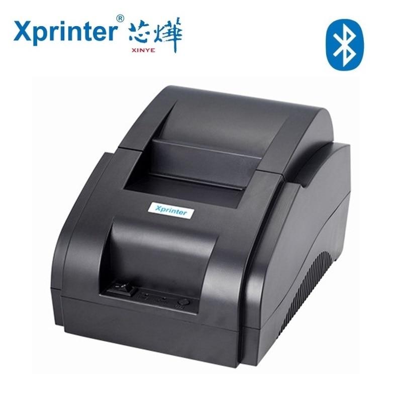 Xprinter 58mm Bluetooth Thermal Ticket Printer Mini USB + Bluetooth Wireless Android POS Receipt Bill Mechine Cash Receipt xprinter xp c230 80mm usb thermal cash receipt printer