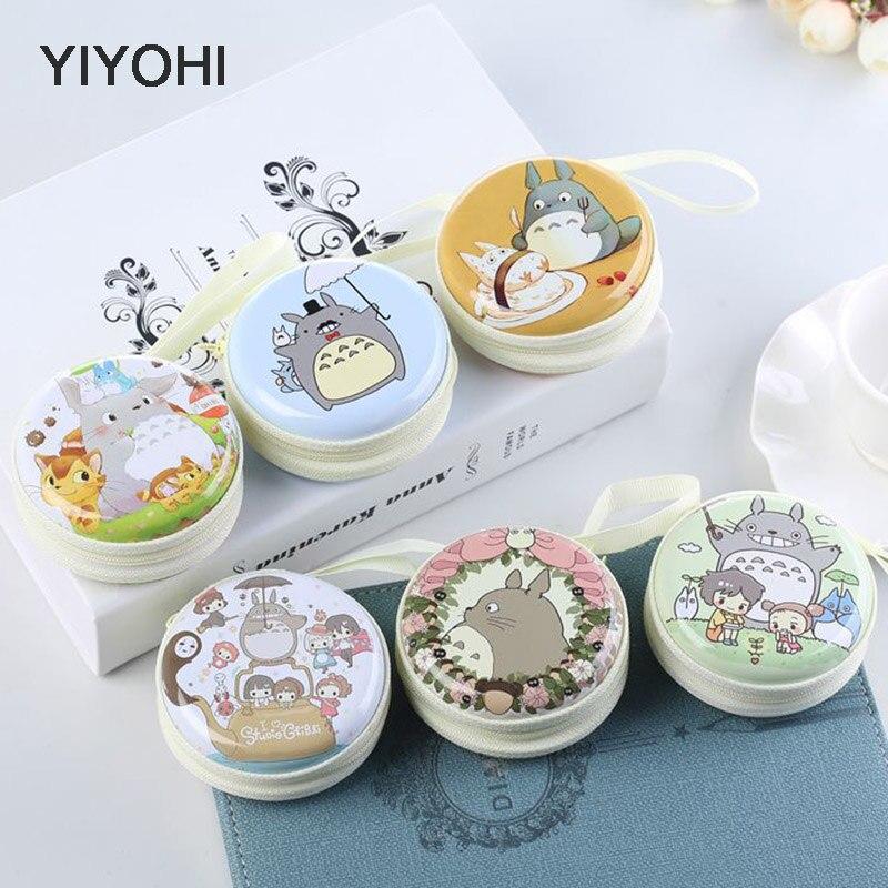 Cute Women Kawaii Totoro Mini Bag Cartoon Totoro  Coin Purse Kids Girls Wallet Earphone Box Bags  Wedding Gift  Christmas Gift