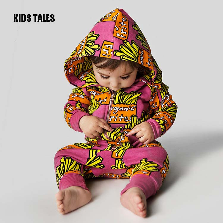 KIDS TALES Baby Rompers Newborn 100% Cotton Tracksuit Clothing Baby Long Sleeve Hoodies Infant Boys Girls Jumpsuit Baby Clothes 2016 new newborn baby boys girls clothes rompers cotton tracksuit boys girls jumpsuit bebes infant long sleeve clothing overalls