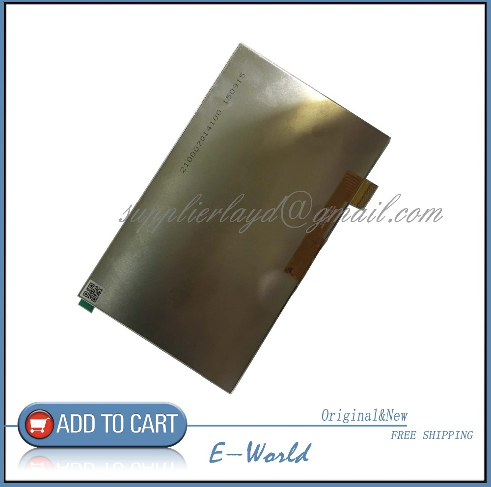 7 inch tablet LCD display WJWS070087A WJWS070087A-FPC LCD screen Module Replacement 30 pin LWH:164*97*2.5mm