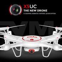 Chính thức SYMA Drone X5UC RC Quadcopter 2.4 Gam 4CH Hover Chức Năng Không Đầu Chế Độ, 2.0MP HD Camera, X5C Nâng Cấp Phiên Bản Mới