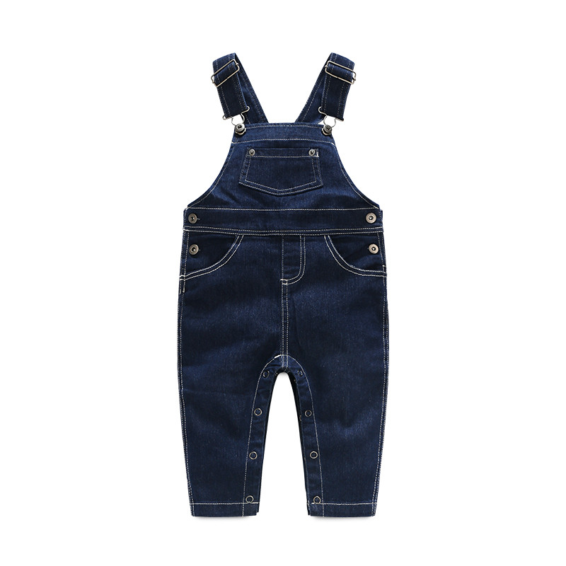 HOT Children striped  Baby  Boys clothes set  kids Clothing suit t shirt+Pants  2Pcsset baby boys Denim overalls70-100 (13)