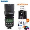 Godox TT600 2 4G Drahtlose Kamera Blitz Speedlite + Godox X1T CTransmitter TTL Wireless servo blitzauslöser für Canon-in Blitze aus Verbraucherelektronik bei
