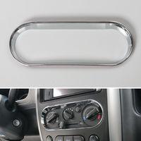 Auto ABS Chrome Interior Marco de Interruptor de Ajuste de Ajuste de La Cubierta de Aire Acondicionado A/C Car Styling Accesorios Para Suzuki Jimny 2007-2015
