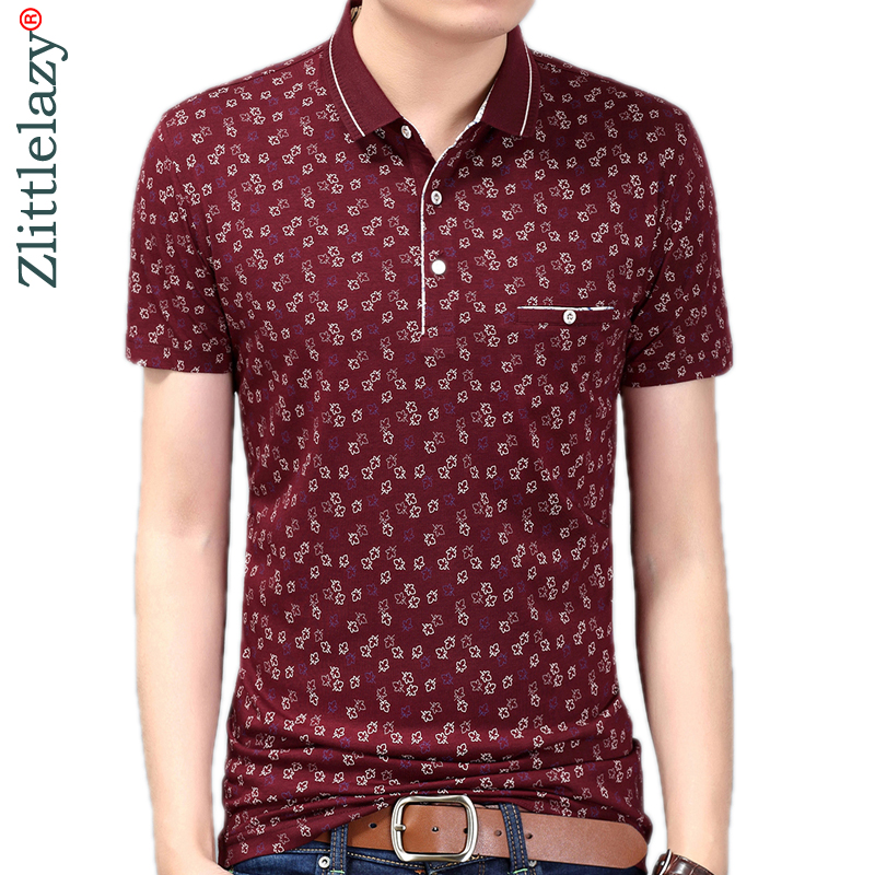 Summer   polo   shirt men short sleeve   polos   shirts flower slim fit mens pol clothes dress bodybuilding streetwear poloshirt 5761