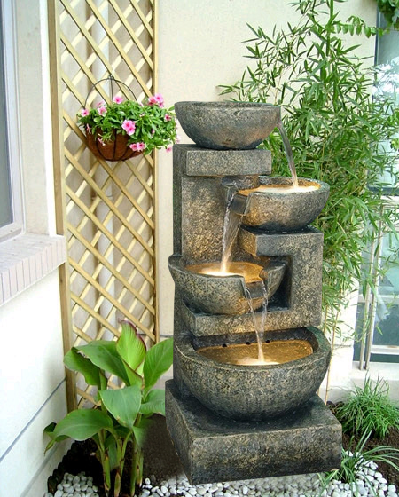 European Household Creative Craft Indoor Water Fountain