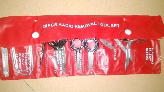 US $7 8 16% OFF|Auto Radio Removal Tool Set Hot Sell 20pc Car Sound  Dismantling Device Set Auto Repair Tools Key Kit Set on Aliexpress com |  Alibaba