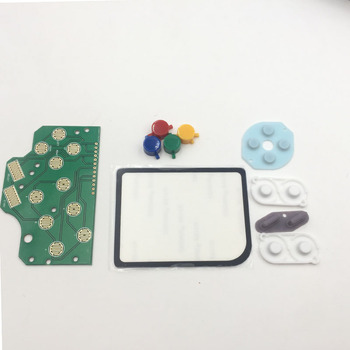 For DMG GB Plastic A B Button & Silicon Select Start Rubber