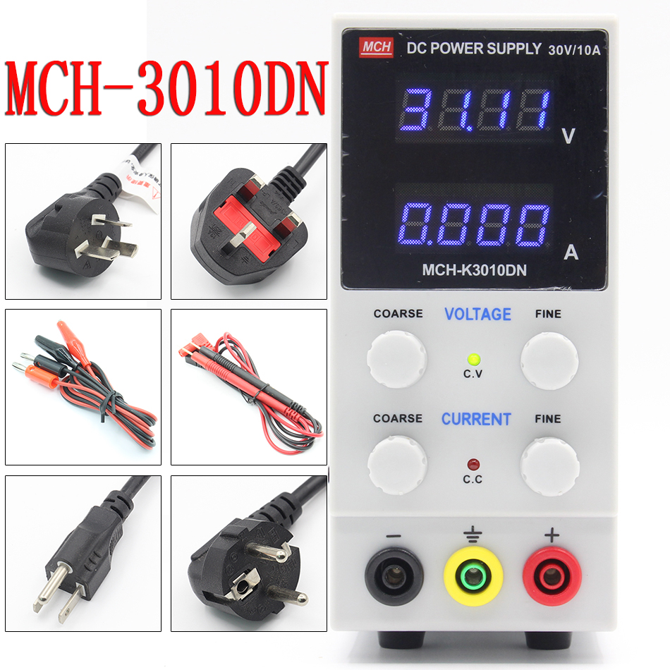 MCH 3010DN 3010D adjustable DC power supply 30V10A digital high precision ammeter for notebook phone repair