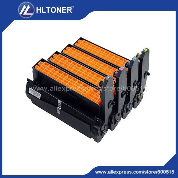 4pcs/set Remanufactured drum unit (43913808 43913807 43913806 43913805) for OKI C710 C711