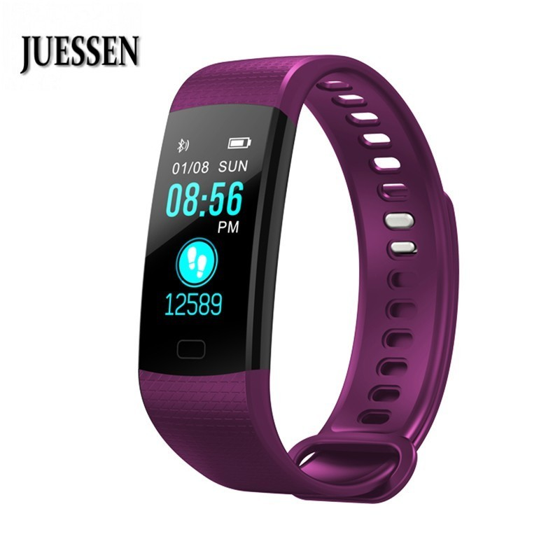 JUESSEN Smartband Activity Tracker Fitness Bracelet Smart Wristband Blood Pressure Color Screen For Huawei Band 2 Pro