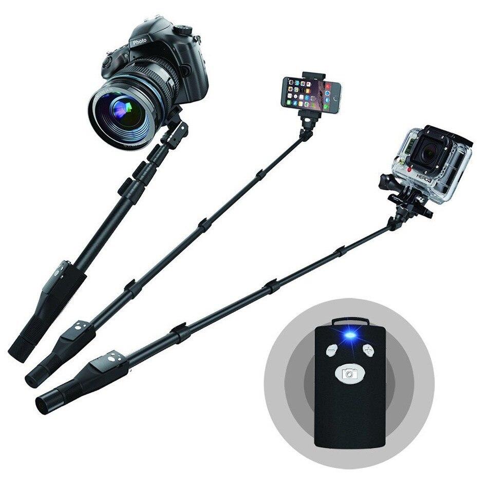 Universal Mini Extendable Handheld Monopod Bluetooth Selfie Stick - Տեսախցիկ և լուսանկար - Լուսանկար 1