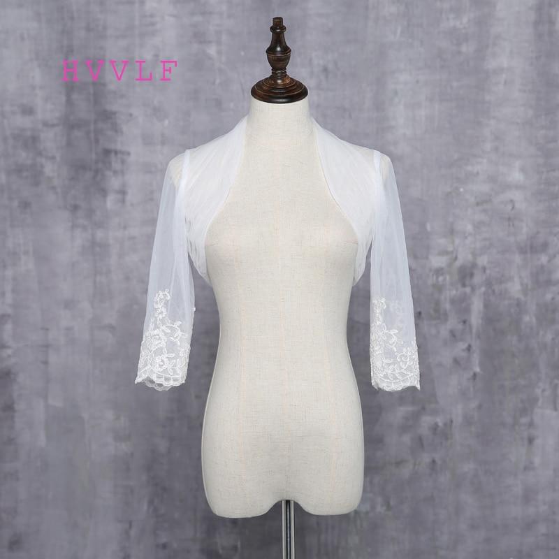 2019 Warm Faux Fur Long Sleeve Ivory Bolero Wedding Wrap Shawl Bridal Jacket Accessories