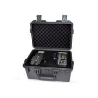 SQ3321 ingeniería PP seguridad llevar la caja de la computadora con espuma case with foam security case foam case -