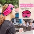 Unisex Inteligente Sem Fio Bluetooth Cap Homens Mais Quentes e Meninas Headband Do Esporte Em Execução Fones De Ouvido Cap 4 Cores Headbands Yoga