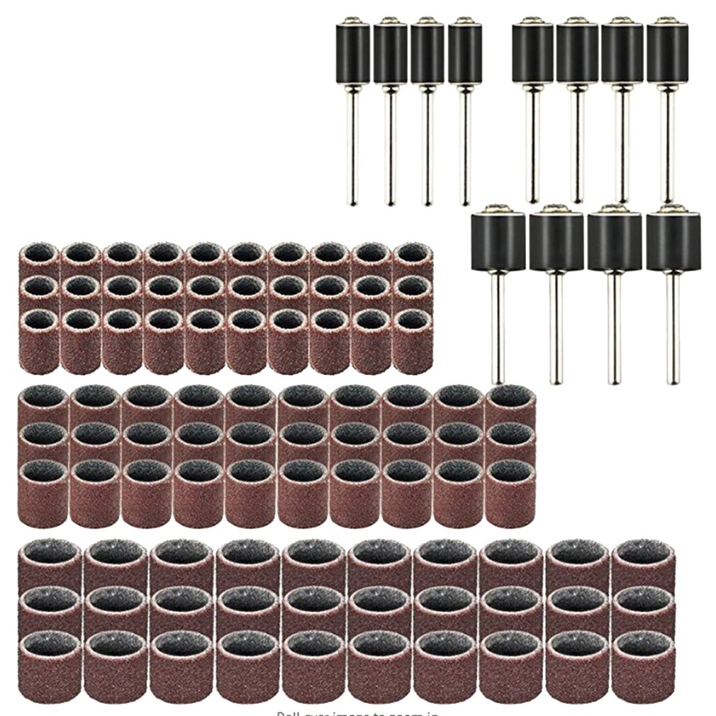 102pcs Rotary Power Tool Set Mini Drill Grinder Polishing Kit Accessories Sanding Bands Wood Work Mandrels