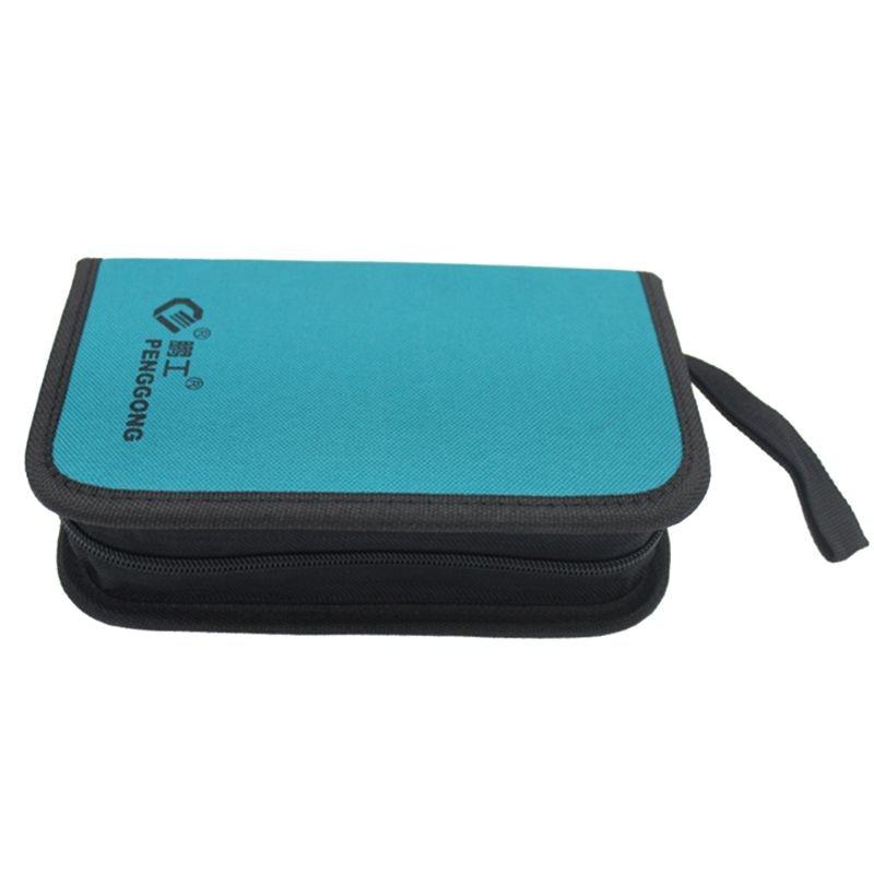 2019 New Portable Hardware Toolkit Handbag Waterproof Oxford Cloth Organize Pocket Storage Pouch Electrician Worker  DIY