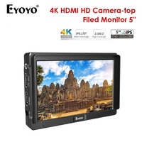 4K monitor Eyoyo E5 5 Inches HD 1080P Field IPS Video Monitor DSLR On Camera LCD display for Gimbals Stabilizer monitor kamera