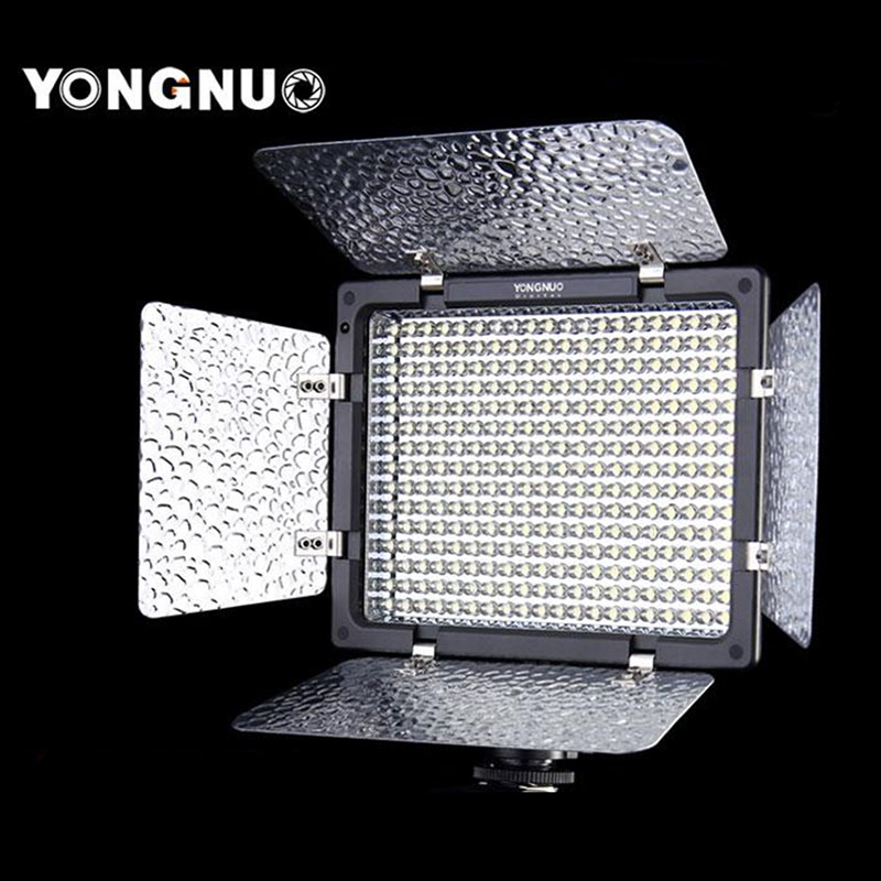 Yongnuo YN-300 LED Camera Video Light Lamp Illumination Dimming Photography Light for Canon Nikon Camera + Remote Control jjc 3 in 1 stacking grid light modifier system for canon yongnuo black
