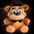 """En Stock oficial de cinco noches At de Freddy 4 FNAF Freddy Fazbear Plush Toys Doll 10 """" por NightmarenCrafts felpa envío gratis"""