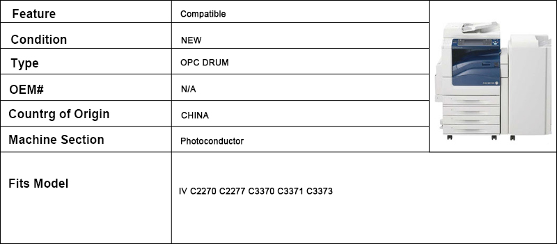 2x OPC TAMBOR para Xerox C2270 C2277