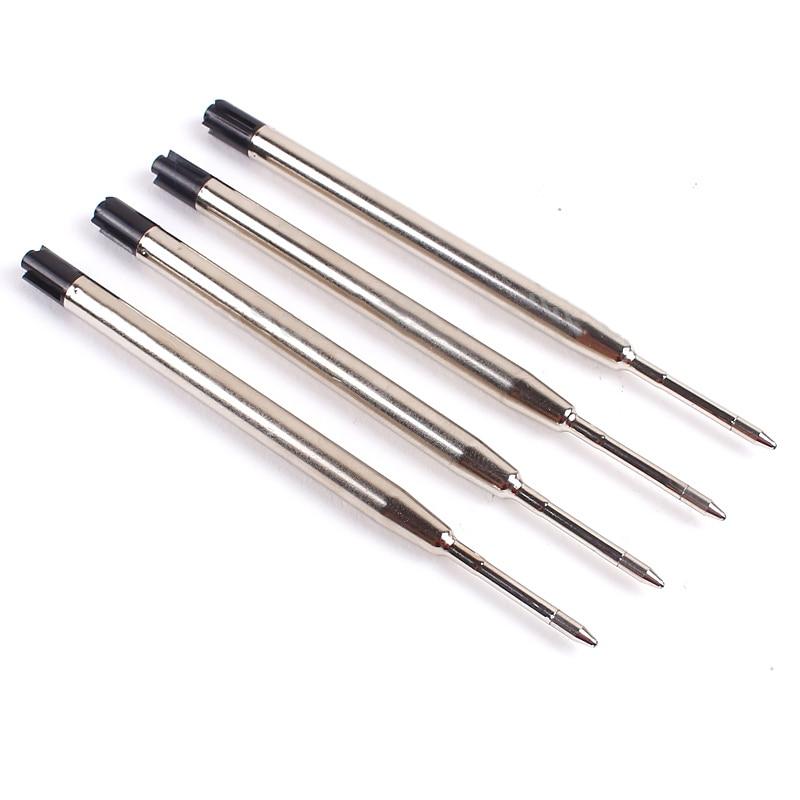 Hot Sale Durable 10 Pcs/set Black Ink Refill For Self Defense Writing Pen Outdoor Sport Defensa Personal Tactical Pens Equipment