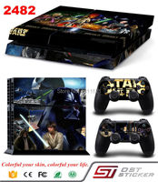 Hot Selling Products Star Wars Decal Skin For PS4 Console Cover Console Skin Stickers And Controller Protective Decal Sticker