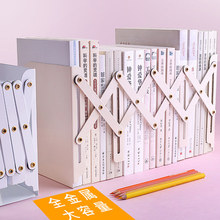 Book-Storage-Book Iron-Frame Model Telescopic Arbitrary Folding Minimalist Multicolor