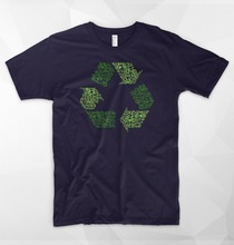 Recycling Bicycling logo shirt