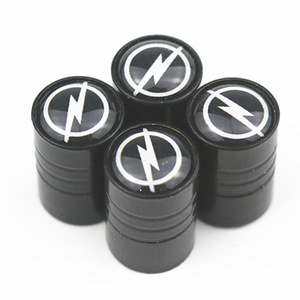 4pcs New Style Car Wheel Tire Valve Cap Tyre Dust Cap For Opel Astra H G J Insignia Mokka Zafira Corsa Vectra C D Antara