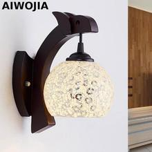 Industrial Wall Sconce, Loft Retro Wall Lamp Vintage Fixtures With Glass Lampshade Lamparas De Pared Arandelas цена