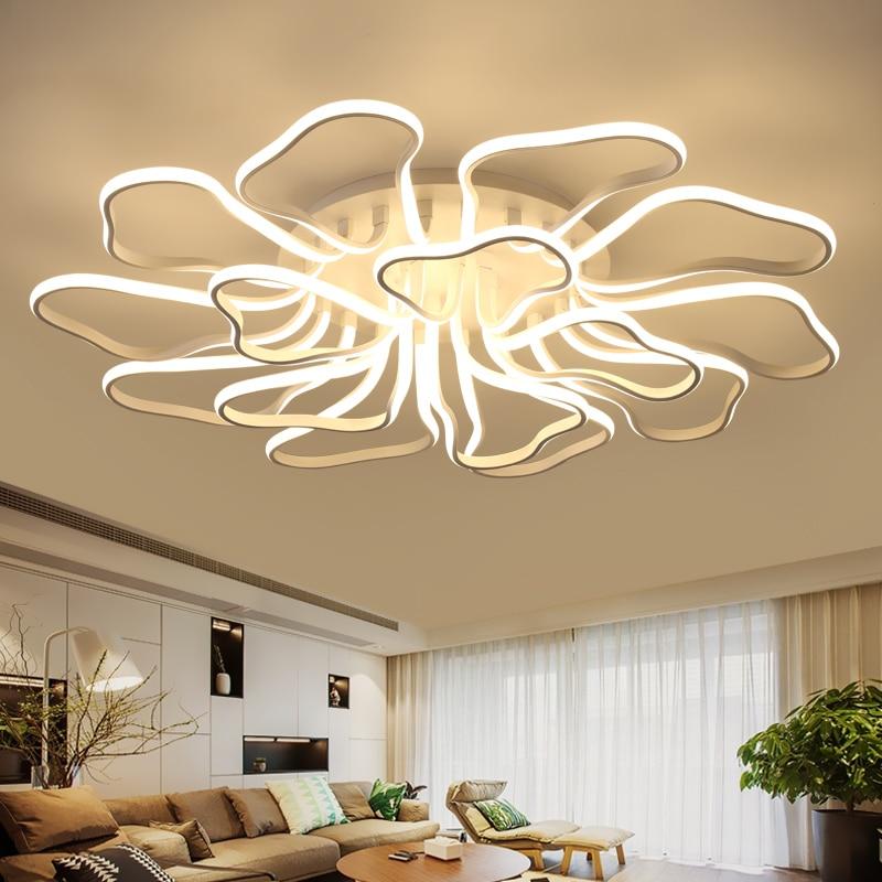 Eusolis Moderne Led Plafond Verlichting Aluminium Plafondlamp Woonkamer Slaapkamer Plafonnier Led Moderne Plafonnier Ac85-265v