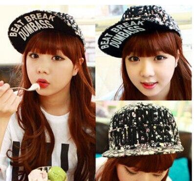 Fashion New 2014 Korean Punk Couples Women Men Printing Letter Hat Sun Hats  Breaking Baseball Hiphop Cap Snapback Cotton Caps c83fba7bf0d